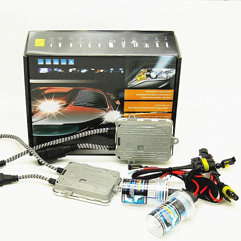 fast bright AC 12v 55w xenon kit H7 H1 H3 H4 H8 H9 H11 HB3 4300k