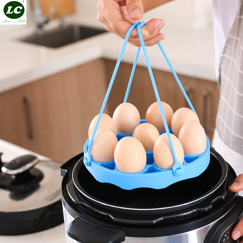 Multi-function Silica Gel Steamer Sgg Steamer Removed Easy Heat Insulation Pad  Cookware Egg Tool Kitchen Tool