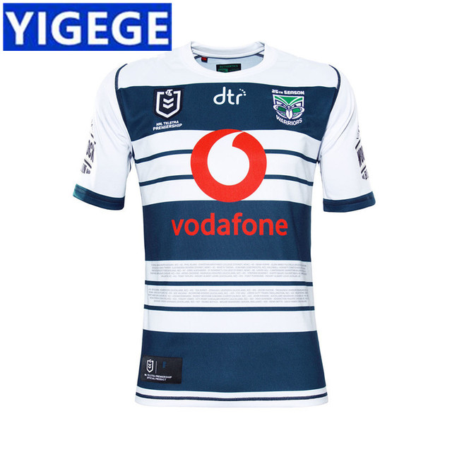 2336d52a YIGEGE WARRIORS 2019 MEN'S HERITAGE JERSEY 2019 2020 Newest NRL High  Quality New Zealand Warriors Rugby Jerseys size S-3XL