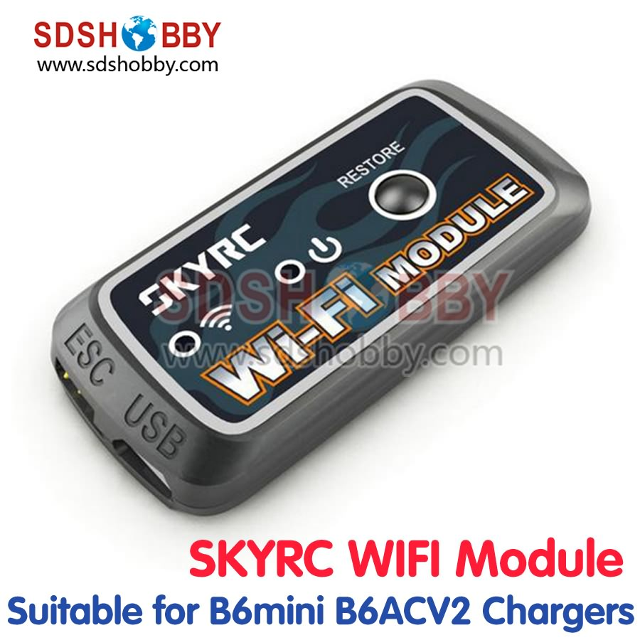 ФОТО SKYRC WIFI Module Smart Phone Control Module for SKYRC ESC B6 Mini B6AC V2 D100 Charger