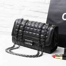 цена на Women leather Shoulder bag Fashion Sac Chains luxury handbags gg bags designer ladies Tote Crossbody Top-handle bag quilted
