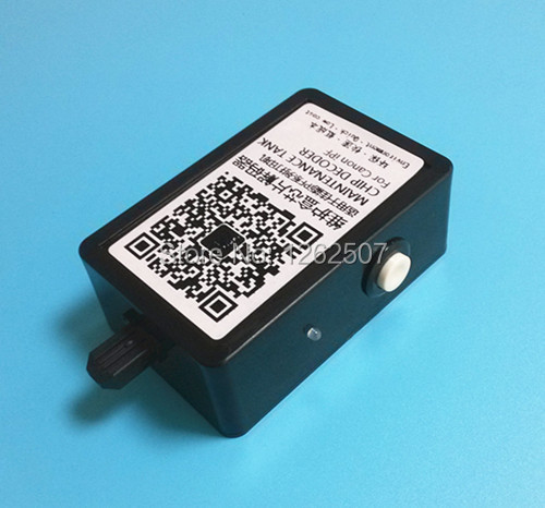 Waste ink tank /waste ink box chip resetter for Canon iPF8000 IPF9000 iPF6000 iPF6100 maintenancet box chips original new for canon ir advance c2020 2225 waste toner box
