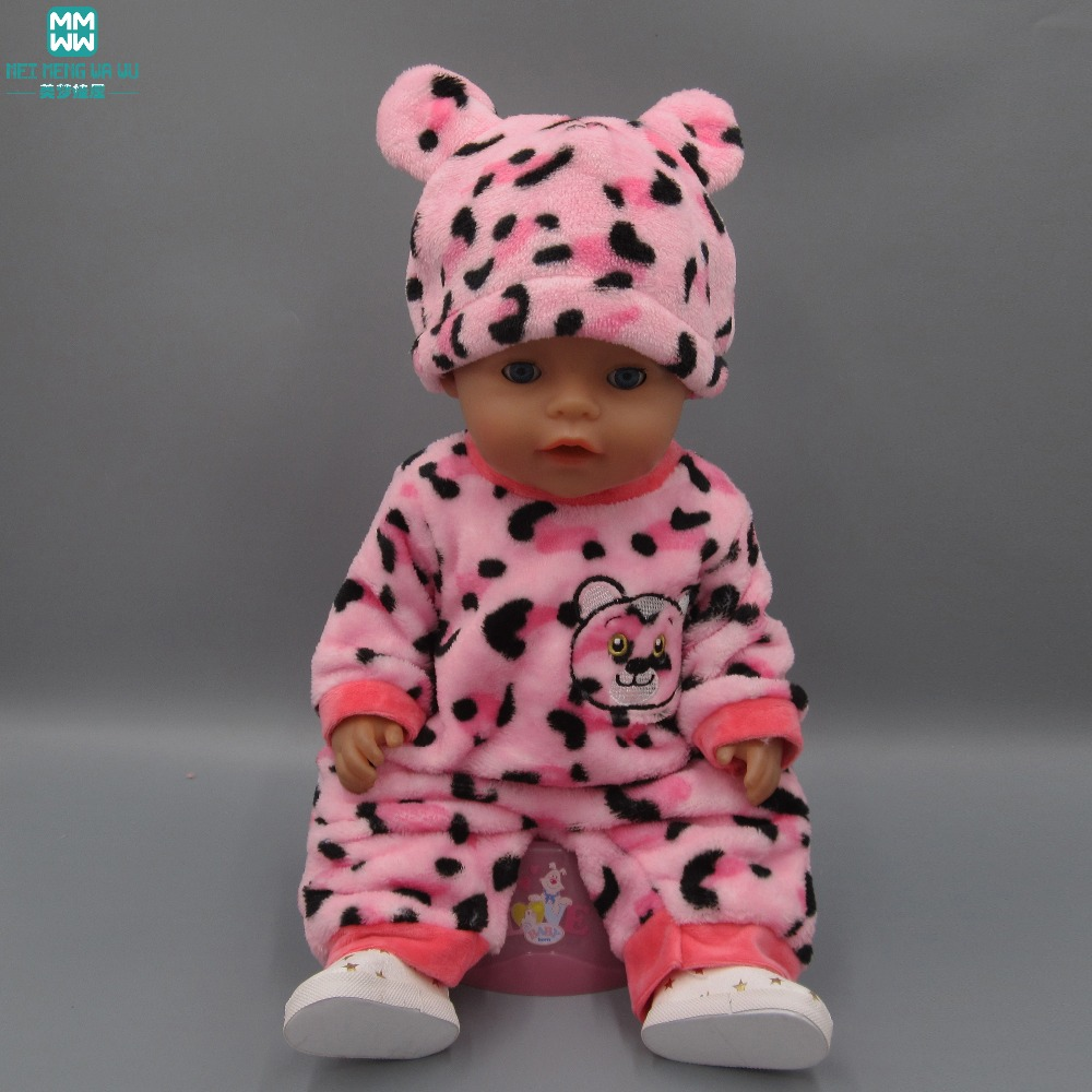 6b87428f9 Fashion Cartoon Creativity Suit Casual Set Clothes for dolls fits 43cm Baby  Born zapf doll Accessories