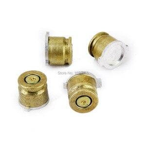 Image 2 - IVYUEEN or 9mm balle laiton bouton Aluminium Action boutons Kit pour Sony Dualshock 4 PS4 Pro Slim contrôleur accessoires