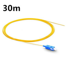 QIALAN 30m SC UPC Fiber Optic Pigtail Simplex 0.9mm PVC Jacket Ftth in Equipment