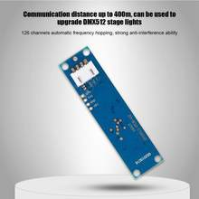 DMX512 DC 5V 500mA 2.4G ISM Wireless Receiver&Transmitter 126 Channel Frequency Section(China)