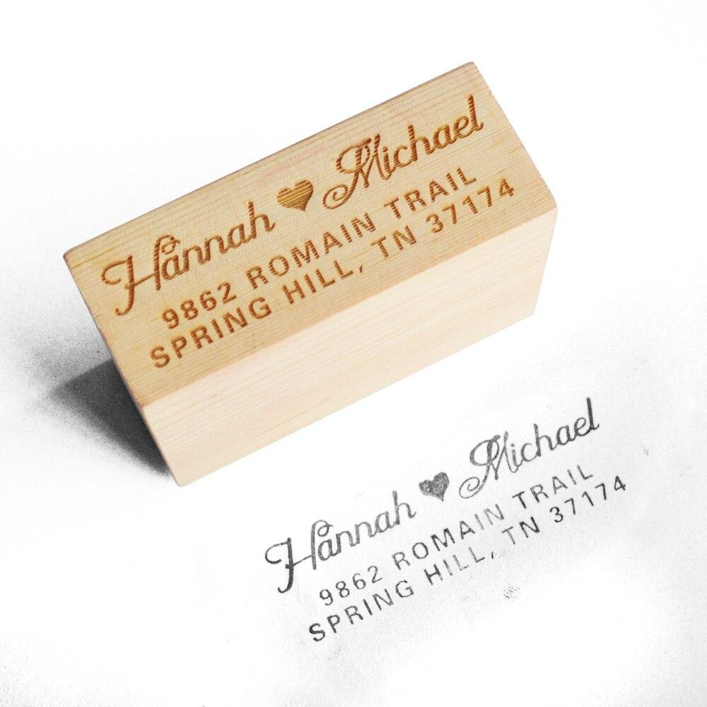 Personalisierte Hochzeit Stempel Anpassen Stempel Mit Ihrem Namen