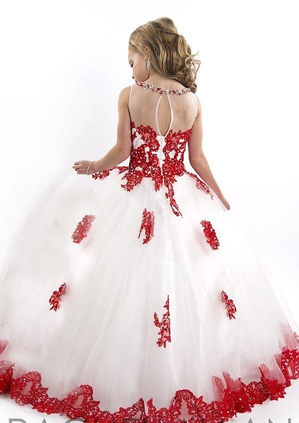 Новое поступление года; Великолепное Кружевное Пышное красивое платье из органзы с бусинами и кристаллами для маленьких девочек; Платья с цветочным узором