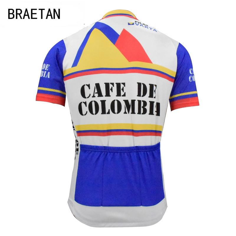 Dropwow 2018 retro men cycling jersey tour old style clothing ... a6adc2e97