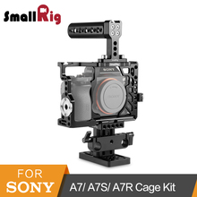 SmallRig Camera Cage Accessories Kit for Sony A7/ A7S/ A7R With Top Handle+HDMI Cable Clamp + Arca Baseplate -2011