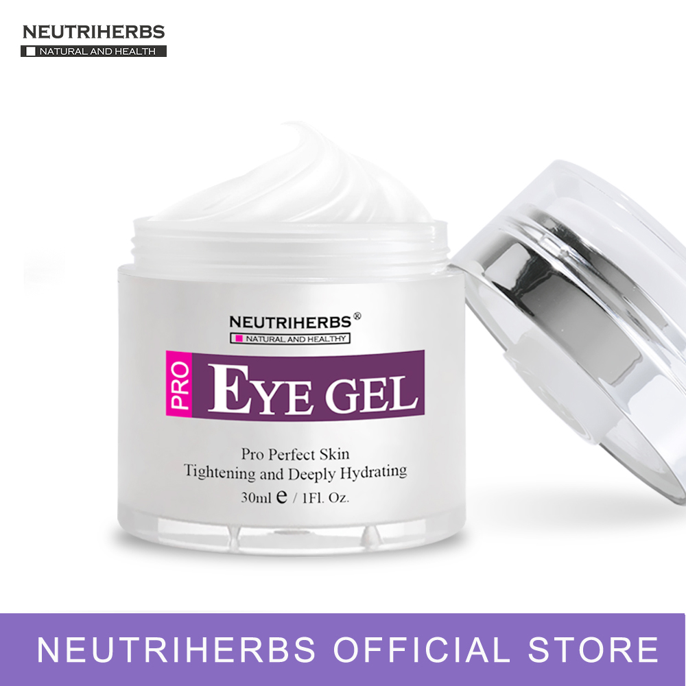Neutriherbs Effective Eye Gel Cream for Dark Circles Puffiness Wrinkles Bags Under and Around Eyes. 1.7 fl.oz mabox natural eye gel for appearance of dark circles puffiness wrinkles and bags for under and around eyes eye gel essence gel