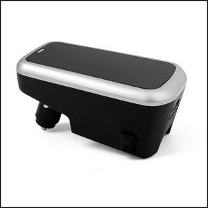 Image 4 - Araba kablosuz şarj cihazı volvo XC90 YENI XC60 S90 V90 C60 V60 2018 2019 Özel cep telefonu şarj plakası araba aksesuarları