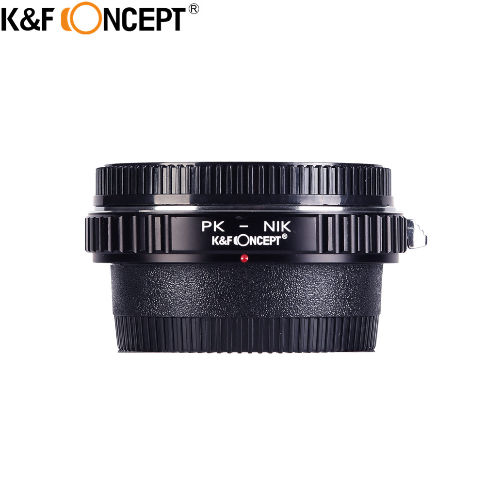 K&F CONCEPT PK-AI Camera Lens Adapter Ring With Infinity Focus Glass For Pentax PK Lens To For Nikon AI F Mount Camera Body photography backdrops 6 5 5ft 200 150cm fondos estudio fotografico vase curtain windows fundos fotograficos