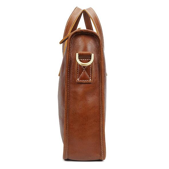 Leather men's handbags, briefcases, leather casual laptop bags, vintage handbags.pinepoxp bag