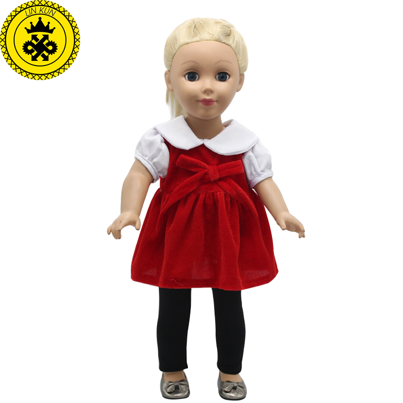 Surprise 18 inches Doll Dress Clothes Accessories Girl Gift Toy