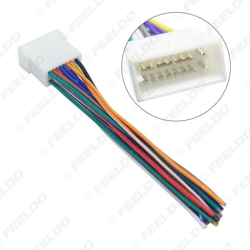 Clarion adaptador de volante para modelos nissan con 8+16 conectores pin