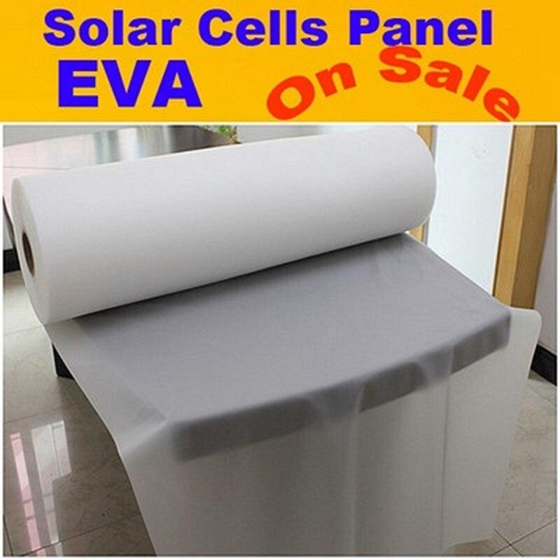 550MM * 40M Solar Panel EVA Sheet  For Solar Cell Encapsulation 810mm 10m photovotaic cells eva solarcap for diy home solar panel system encapsulation