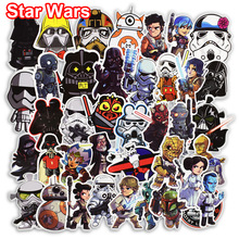 100 Unids Star Wars Pegatinas para Skateboard Bike Motocicleta Car Styling Laptop Home Decor Calcomanías Graffiti Fresco Etiqueta A Prueba de agua