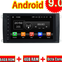 Topnavi Android 9,0 автомобиля gps навигации CD плейер радио для Porsche Cayenne 2003 2004 2005 2006 2007 2008 2009 2010 стерео без DVD