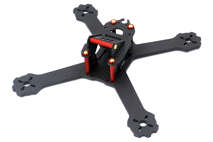 DIY mini drone FPV QAV-X GTR HK-X4 175mm X5 200mm cross racing quadcopter QAV-R pure carbon fiber frame for Gifts 5045 V2 diy fpv mini drone qav210 quadcopter frame kit pure carbon frame cobra 2204 2300kv motor cobra 12a esc cc3d naze32 10dof