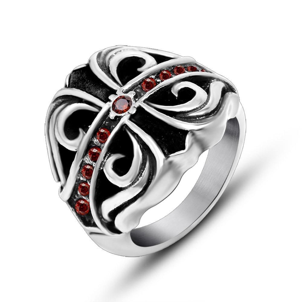 Cross wedding ring sets
