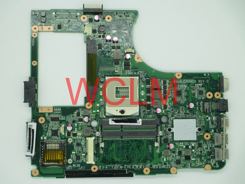 free shipping NEW Original N55S N55SF motherboard mainboard MAIN BOARD DA0NJ5MB8C0 100% Tested Working free shipping new original g55vw motherboard main board mainboard gt660m video card n13p ge a2 100% tested