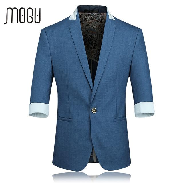 Mogu chaqueta manga tres cuartos chaqueta de los hombres 2017 ...
