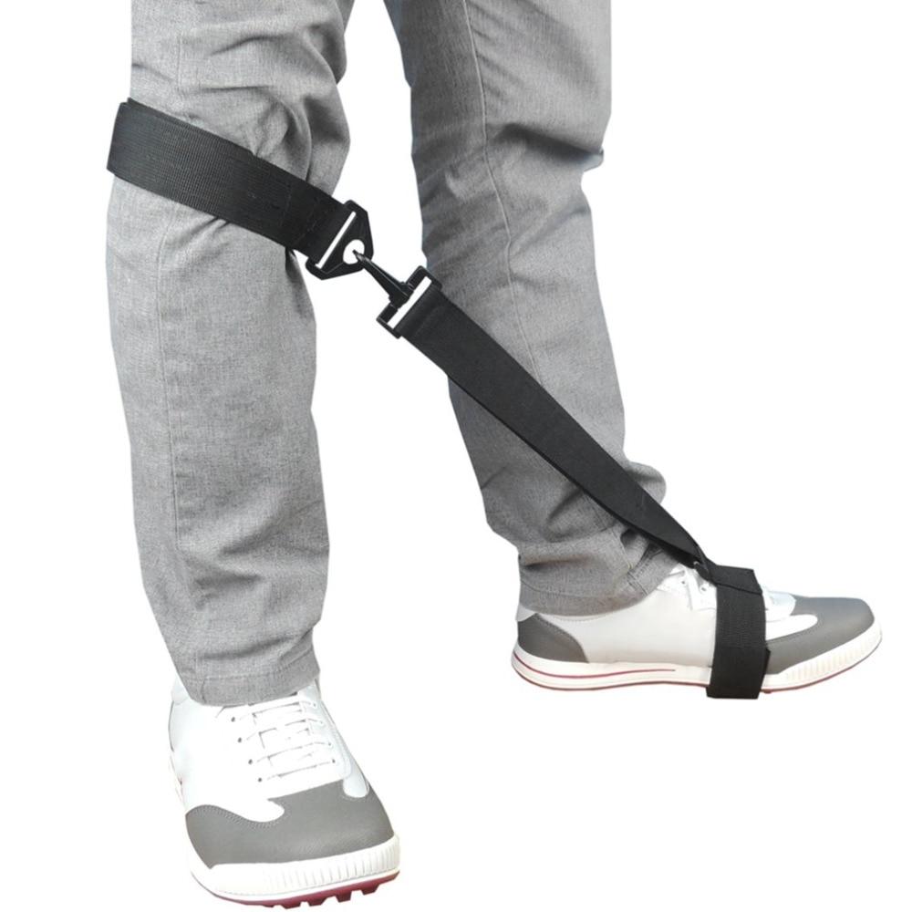 Golf Post Orthotics Correction Leg Rod Corrector Rod Remedical Belt Leg Golf Training Aids