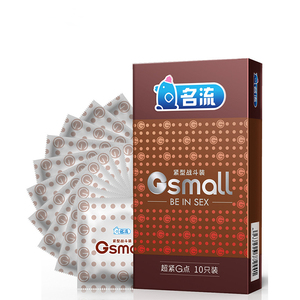 10 Pcs/box 45mm Small Size Ultra Thin Condoms Latex Particles-Stimulation Tight Condom Safe Sex Toys For Men