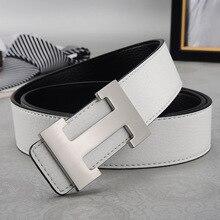 2019 Genuine Leather Designer Belts High Quality Smooth Buckle Belt Leather Belt Buckle Belts for Men Women Leisure