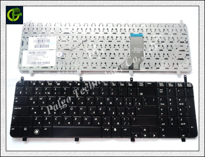 Russian Keyboard for HP HDX18 HDXX18 HDX 18 18T X18 X18T RU Black laptop Keyboard