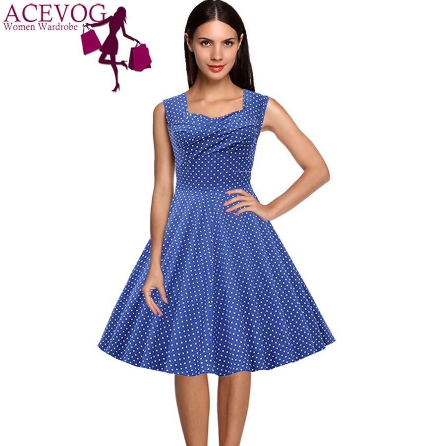 1950s Women Casual Dresses