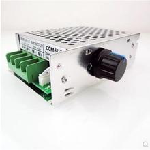 цена на PWM DC Motor Governor, 12V24V36V30A Motor Controller. Metal shell, speed switch module