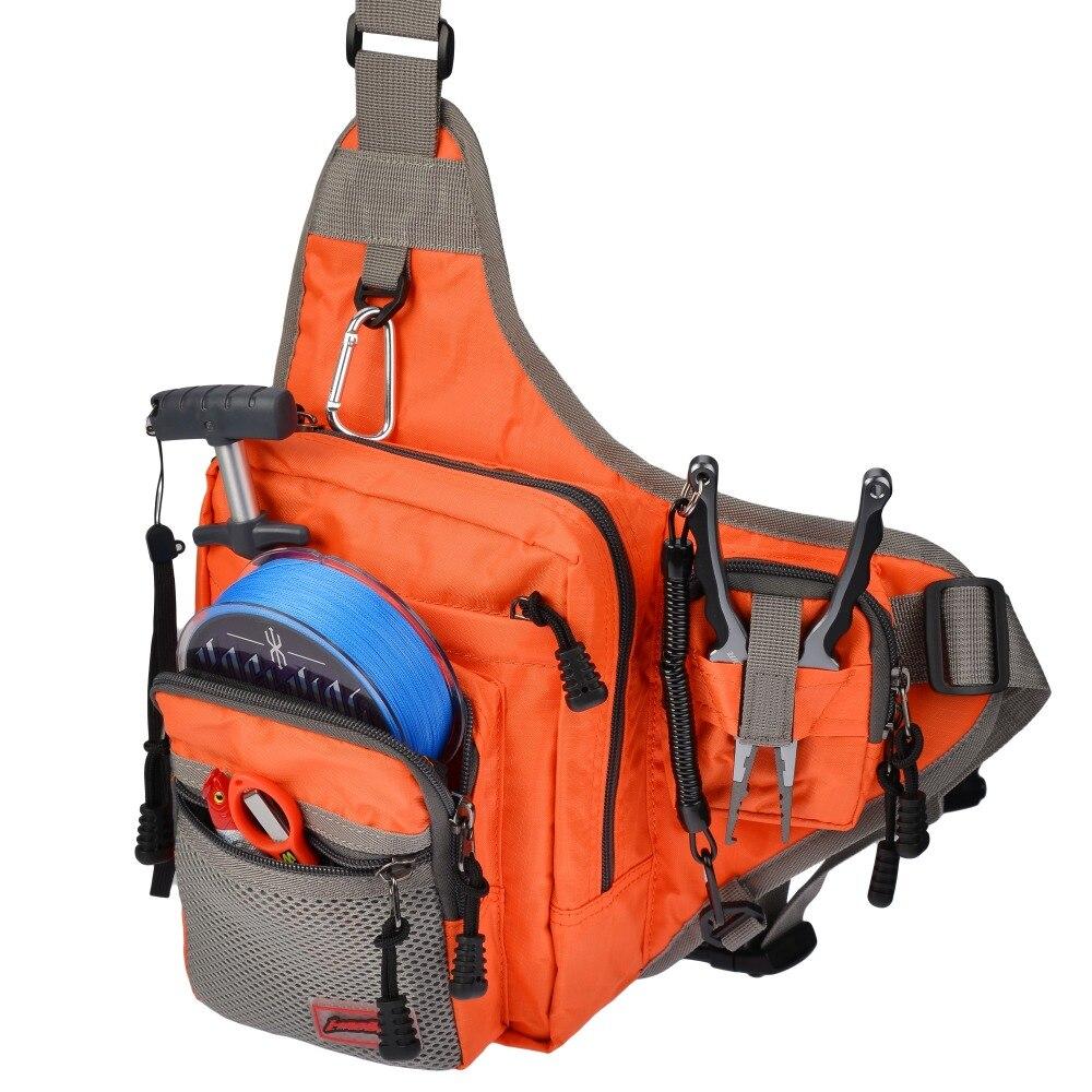 Prix pour MadBite Multifonctionnel 2016 attrait de taille messager paquet de pôle sac de pêche sac de pêche sac