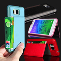 Stand Phone Case For Samsung Galaxy Alfa G850F PU Leather Card Holder Back Cover Free Shipping