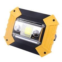 20 Вт светодиодный портативный Точечный светильник светодиодный рабочий светильник для охоты кемпинга светодиодный светильник-вспышка уличный светильник перезаряжаемый аккумулятор 18650 LL-603