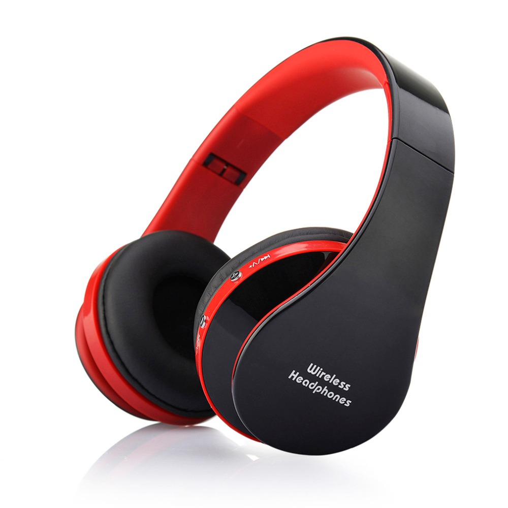NX-8252 Professional Foldable Wireless Bluetooth Headphone Super Stereo Bass Eff