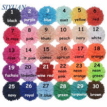 10pcs/lot 8cm Artificial Polyester Headwear Flower with Hair Clip Wavy Pom Pom Flower Neon Color Available FH32