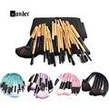 24 Unids 32 Unids MULTIUSOS Cara Cosméticos Lápiz Labial Sombra de Ojos Maquillaje Pinceles Set Kits Profesional Brushs Polvo con Bolsa