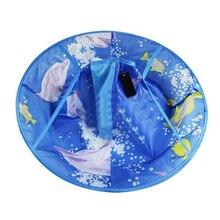 Стрижка платье фартук Парикмахерская накидка салон стрижка зонтик Парикмахер волосы Резка Накидки синий плащ Одежда