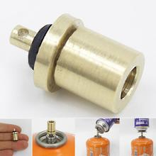 1 Pc Gas Filler Top Quality Refill Adapter Outdoor Camping Long filling flat accessories Cylinder Tank connection