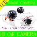 Бесплатная доставка CCD HD 360 град. вид сзади автомобиля фронтальная камера вид сбоку заднего резервного заднего вида