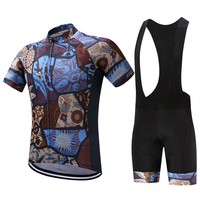 Breathable Quick Dry Pro Bicycle Bike MTB Wear Ropa Ciclismo Tight Clothes Cycling Jersey BIB Short