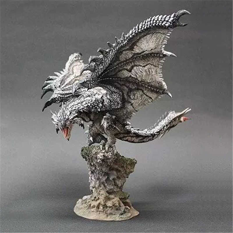 Silver Rathalos Monster Hunter Figure Japanese Anime Rathalos Pvc