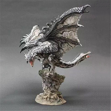 Silver Rathalos Monster Hunter Figure Japanese Anime Rathalos PVC Models Hot Dragon Action Figure Monster Hunter World все цены