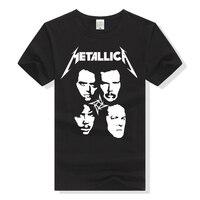 Metallica T Shirt Rock Band Tee Men Women T Shirt Cotton Tshirt Heavy Metal Short Sleeve
