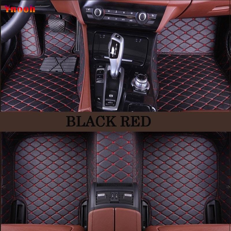 Ynooh tapis de sol de voiture Pour audi a5 sportback audi a3 sportback a3 2005 2006 2007 2009 avant b8 a6 8l 4f 100 c4 tapis de voiture