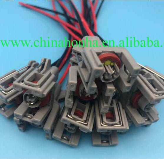 injector wiring harness connector plug common rail injector connector plug  for delphi diesel renault jaguar