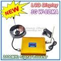 Жк-дисплей! W-cdma 980 усилитель сигнала 2100 мГц WCDMA 3 г усилитель сигнала 3 г сотовый телефон сигнал повторителя + 10 м кабель + антенна