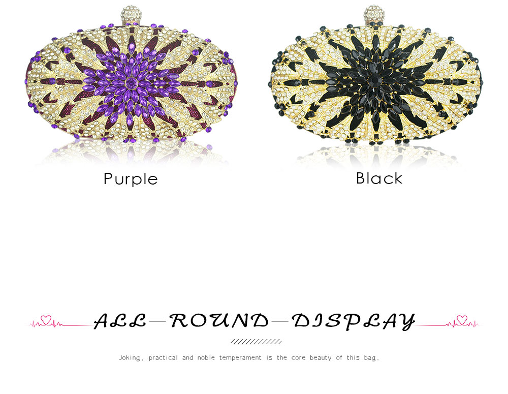 _04 purple black handbag